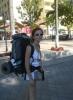 turistlerin sırt çantası