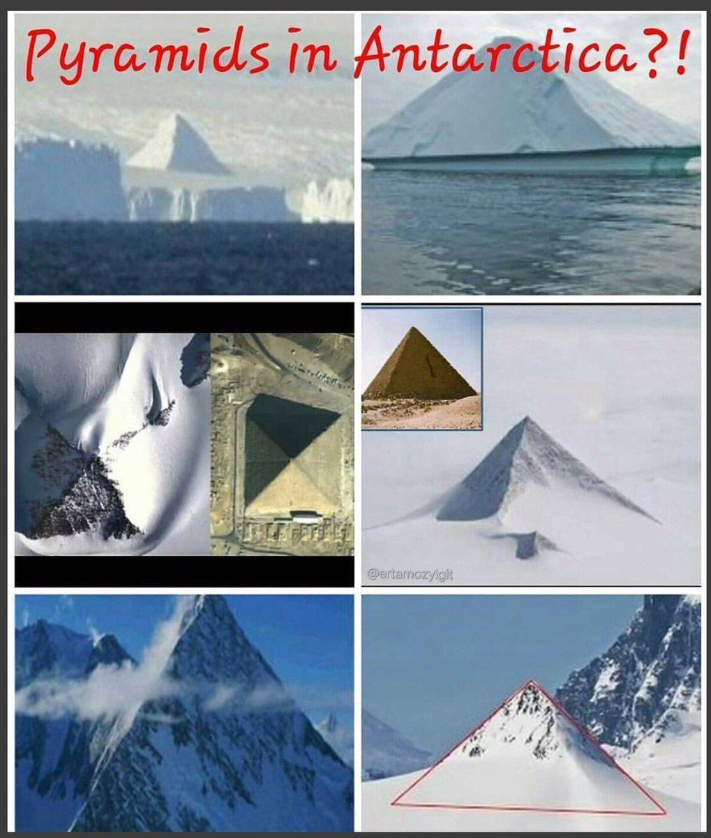 antarktika da bulunan piramitler