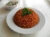 bulgur pilavının pirinç pilavın gölgesinde kalması