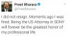 trump ın preet bharara nın istifasını istemesi