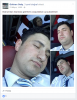 uyuyan yolcunun suratına boşalan metro muavini