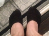 babet çorabı giyen erkek