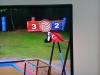 tv8 ekranında bayrağın altta olması