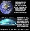 dünyanın yuvarlak olması saçmalığı