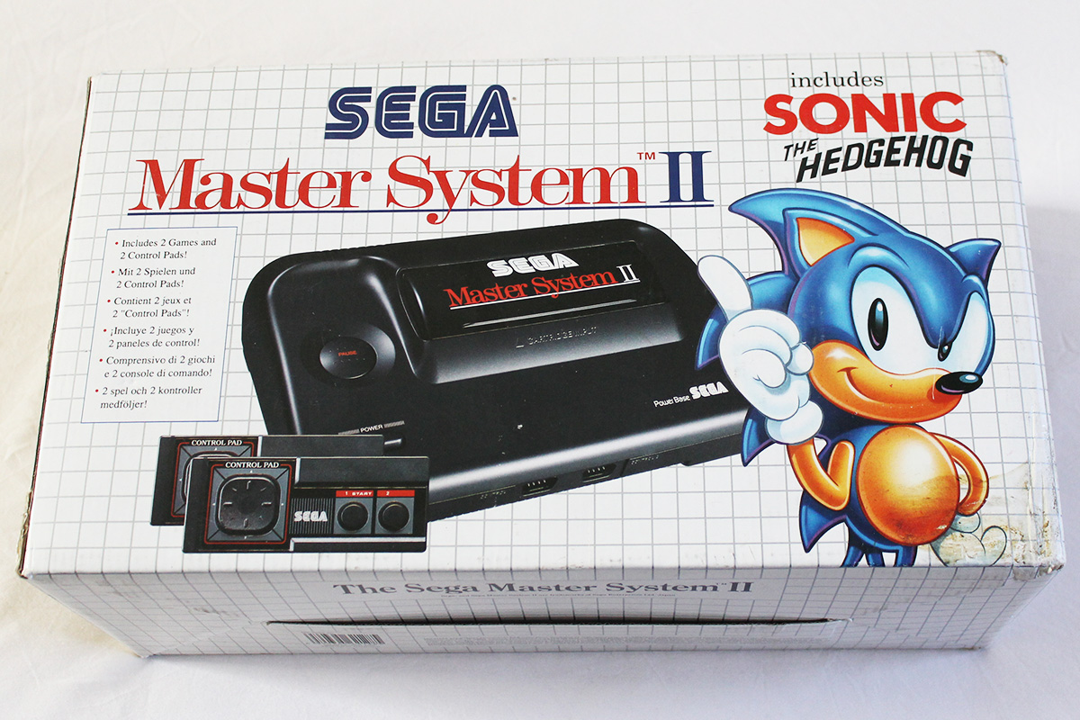 Games consoles pics page 3 - Console sega master system 2 ...