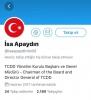 tcdd genel müdürünün türk bayrağına sığınması