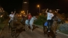 at üzerinde israil i protesto eden ak ülkücüler