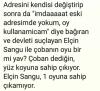 elçin sangu