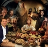 imamoğlunun the hobbit oyuncularıyla iftar yapması