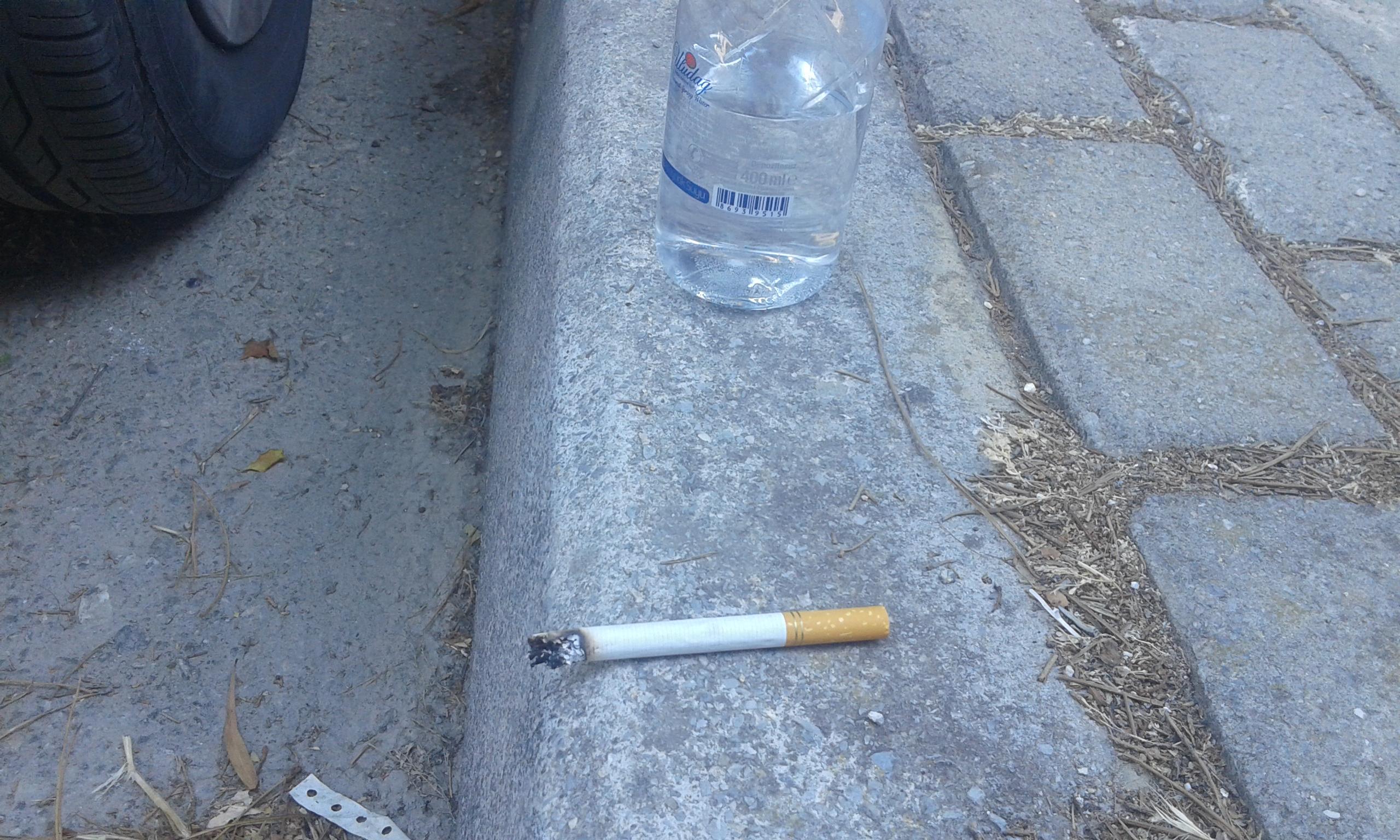 doları boş verip sarma sigara yakmak