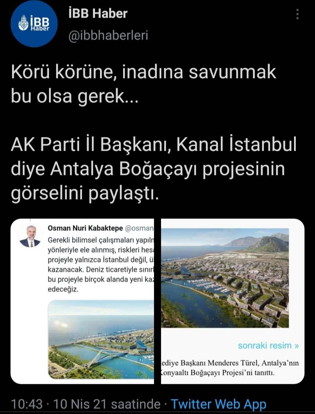akp istanbul il başkanının alay konusu olan tweeti