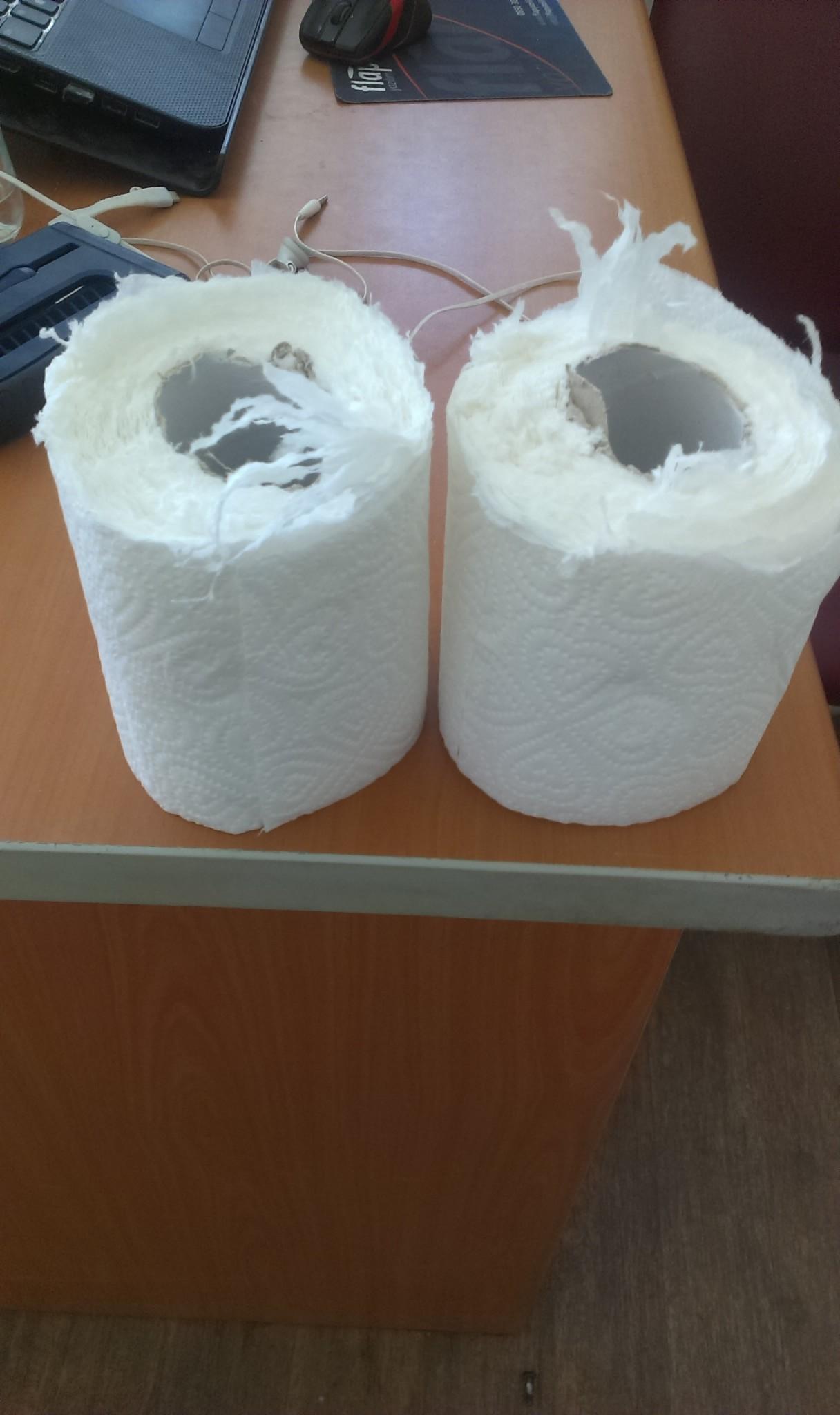 kağıt havluyu ikiye bölüp tuvalet kağıdı yapmak - uludağ sözlük