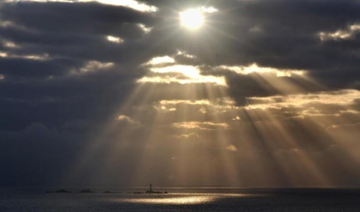 küre dünyada oluşan ilginç güneş görüntüsü