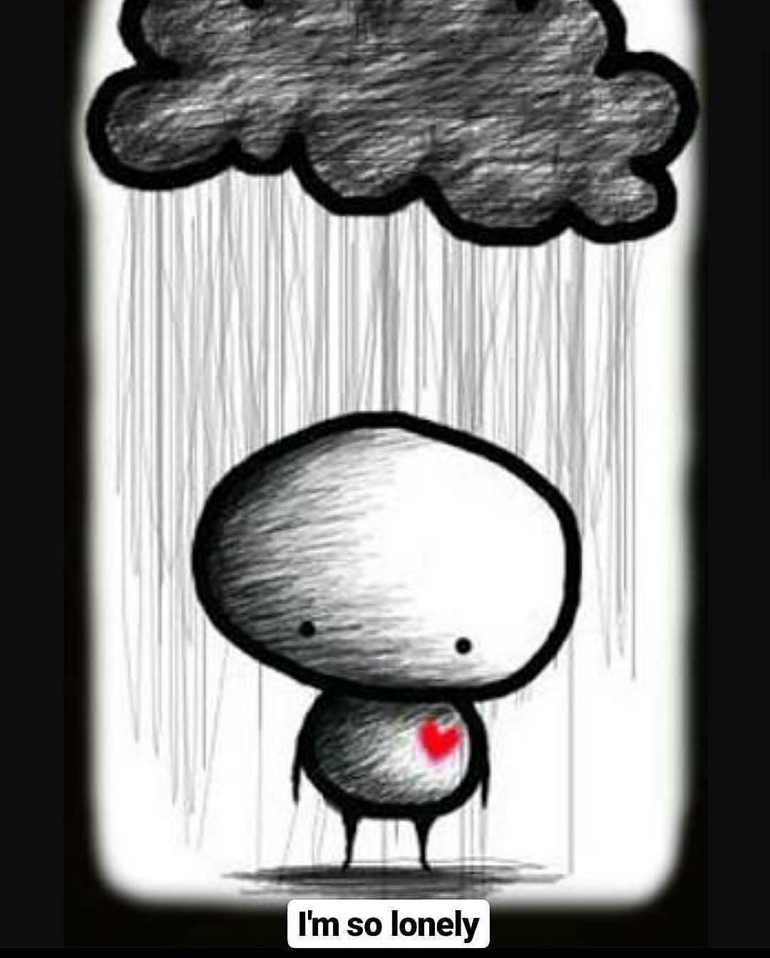 мультяшные рисунки грустные экстерьере каждая деталь
