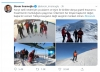 ülke zangır zangır titrerken kayak yapan ekrem