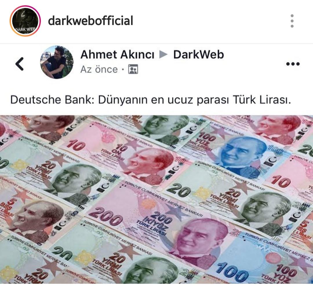 dünyanın en ucuz parası türk lirası