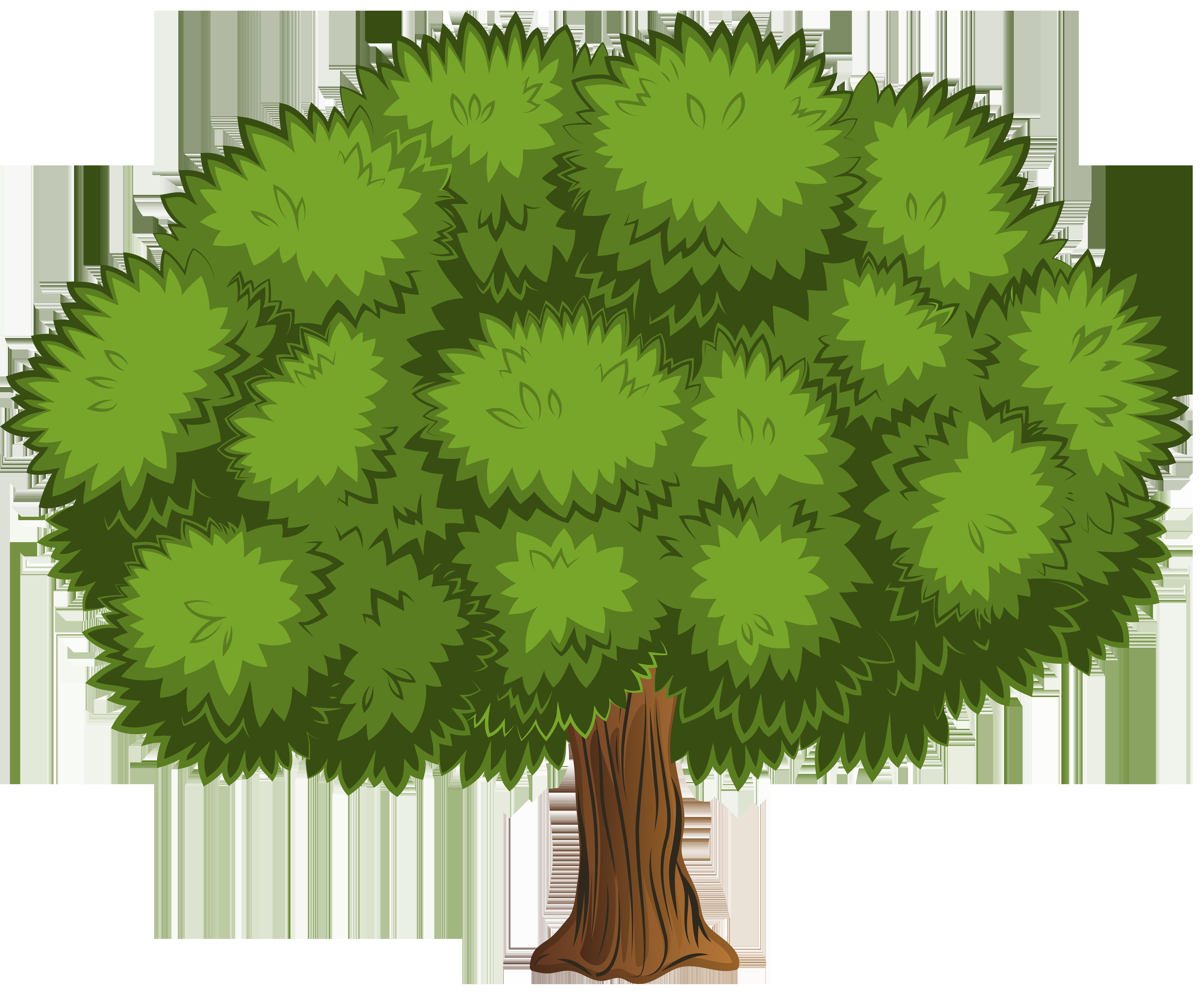 Картинки дерева для детей цветные по отдельности
