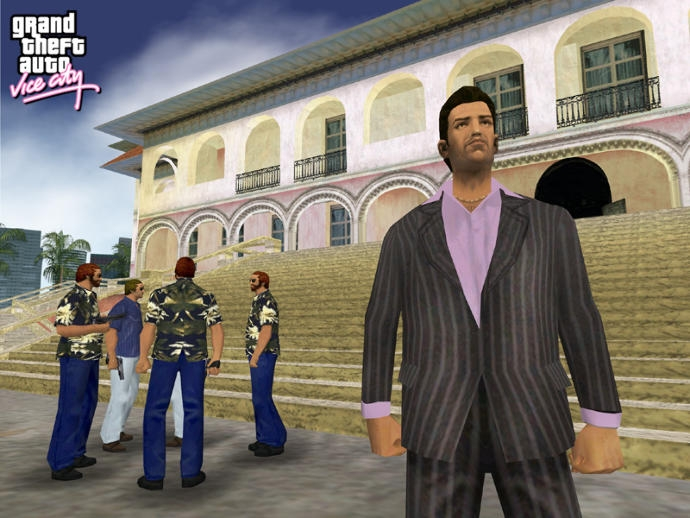 gta vice city vs gta san andreas resim 2