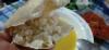 pirinci ekmekle yemek