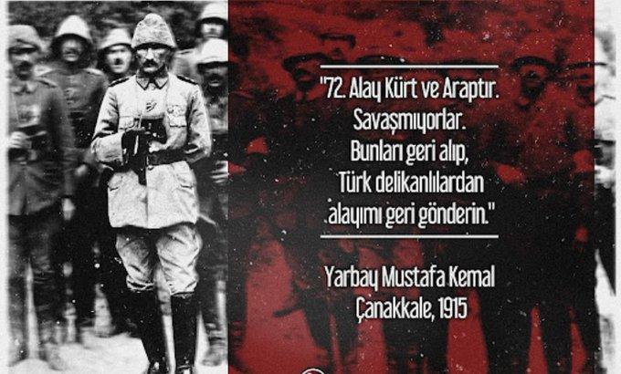 kurtuluş savaşında kürtlerde savaştı saçmalığı