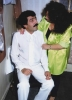 beyaz yazlık takım elbise