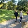 mehmet muş un central park taki sabah yürüyüşü
