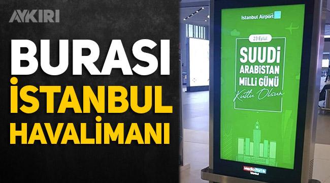 istanbul havaalanın 29 ekim paylaşımı