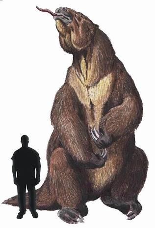 tarih öncesi dev tembel hayvan
