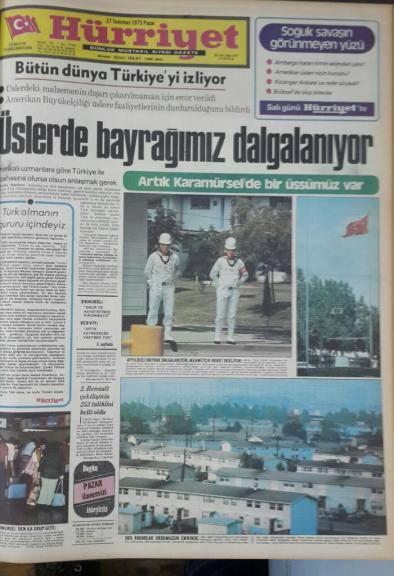 amerikan üslerinde türk bayrağı
