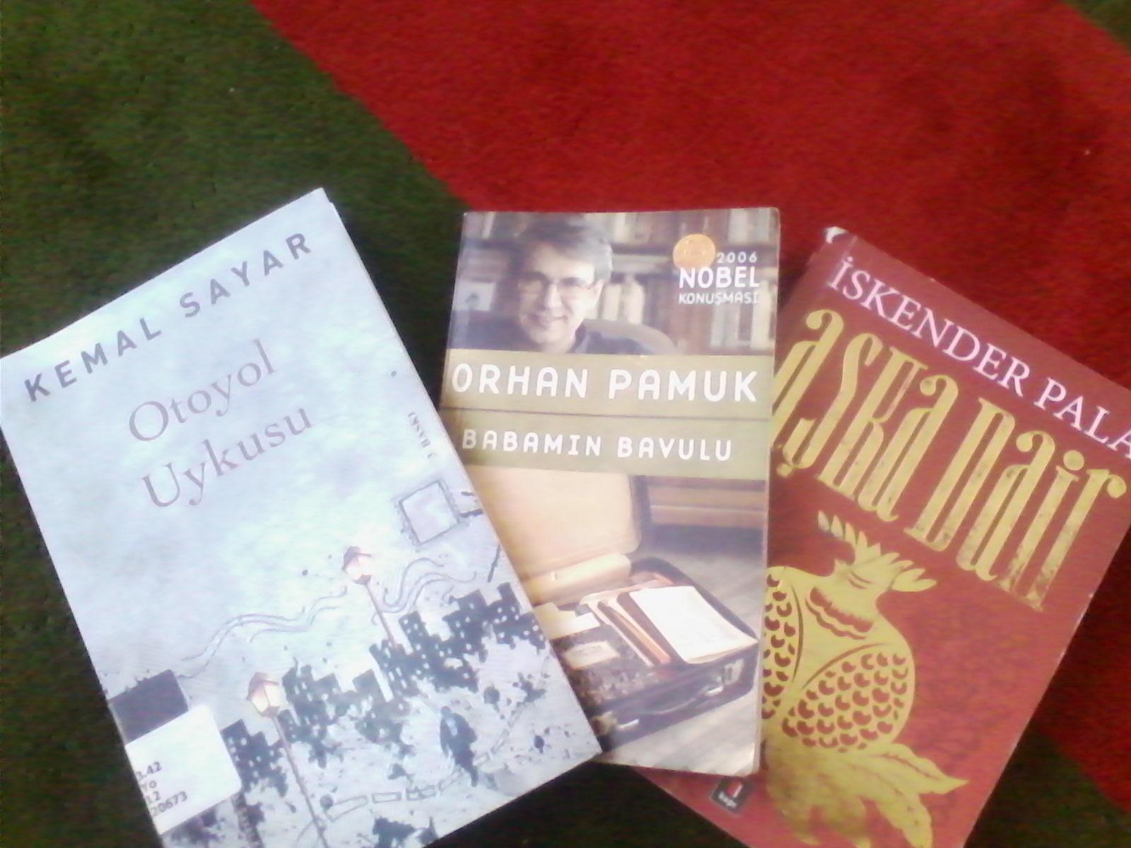 yazarların okumakta oldukları kitap
