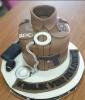 bekçi abimize yapılmış doğum günü pastası
