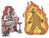 hoşlanılan kadının sigarasına ateş istemesi