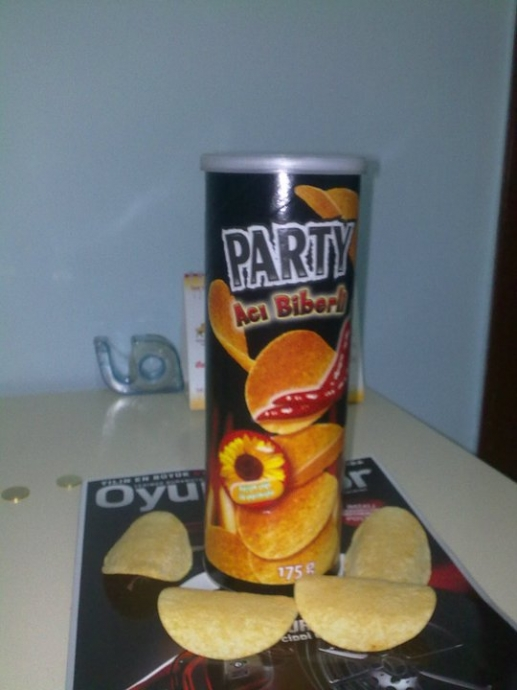pringles vs party resim 1