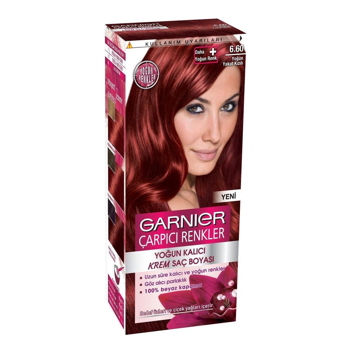garnier çarpıcı renkler saç boyası