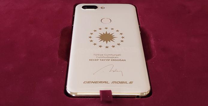 recep tayyip erdoğana özel üretilen telefon