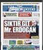 yunan gazetesinin erdoğana küfür etmesi