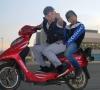 motosiklet kullanan erkek çekiciliği