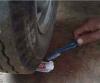diş macununun kurumuş bölgesiyle uğraşmak
