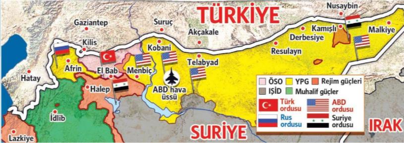 Türkiye-Suriye sınırı
