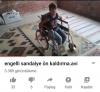 engelli sandalye ön kaldırma