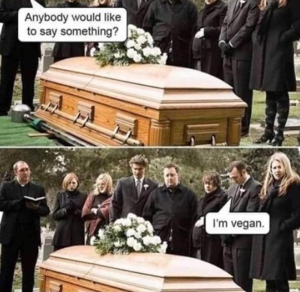 veganları çıldırtacak bir şey bırak