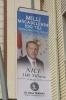 akçakoca belediye başkanının 19 mayıs pankartı