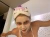 aleyna tilki nin yüz maskeli fotoğrafı
