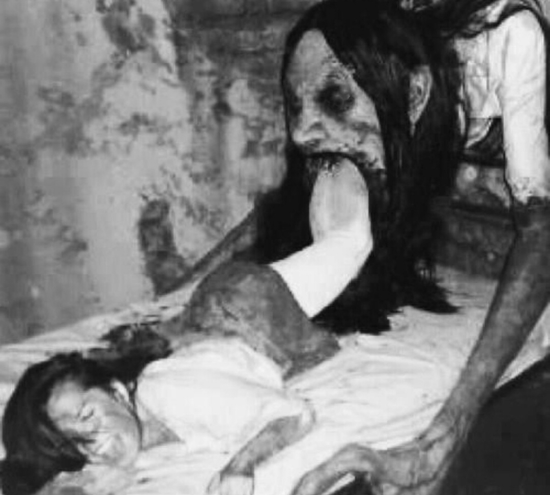 gecenin korkunç fotoğrafı