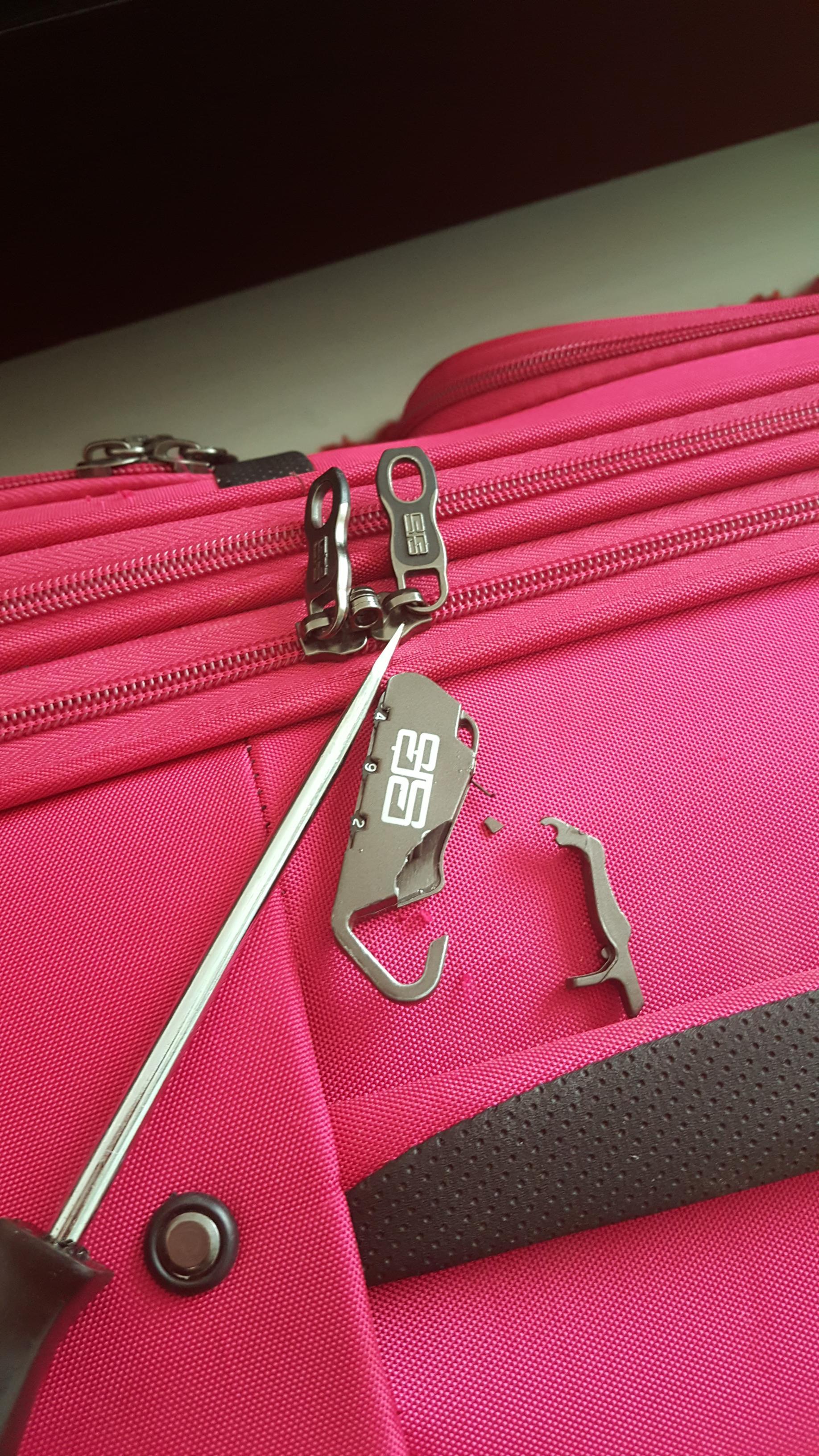 valizin şifresini unutmak