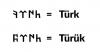 türük