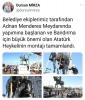 bandırma belediyesi atatürk heykeli açılışı