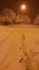 karda yürümek