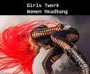 saç savuran kızlar