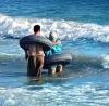 christ in plajda cankurtaran olarak işe başlaması